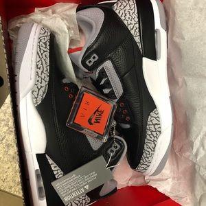 Jordan Retro 3 cement black